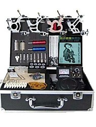 cheap -Professional Tattoo Kit 4 steel machine liner & shader 3 Tattoo Machine Inks Not Included