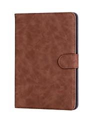 sólido estilo retro padrão caso de couro pu com suporte para huawei media pad m3 (dl09 w09) 8,4 polegadas tablet pc