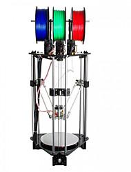 cheap -Geeetech Rostock 301 mix color 3D printer Filament : 1.75mm Nozzle : 0.4mm