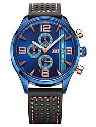 cheap -Men's Women's Military Watch Fashion Watch Wrist watch Japanese Quartz Calendar / date / day Chronograph Water Resistant / Water Proof