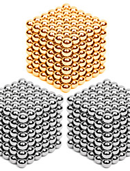 DIY KIT Magnet Toys Super Strong Rare-Earth Magnets Magnetic Balls Stress Relievers 216*3 Pieces 3mm Toys Metal Contemporary Classic &