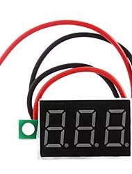 dc 4.5 - medidor de tensão digital do voltímetro do painel led de 30v