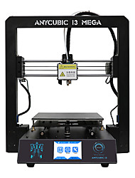 anycubic 3d printer i3 mega full metal frame colorido industrial grade alta precisão affordble venda quente