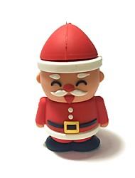 64GB Christmas USB Flash Drive Cartoon Creative Santa Claus Christmas Gift USB 2.0