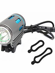 cheap -ANOWL Bike Lights LED 1200 lm 3 Mode XM-L2 U2 Portable Travel Size Wearproof Cycling/Bike