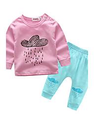 Baby Kids' Indoor Print Sleepwear Spring/Fall Autumn/Fall
