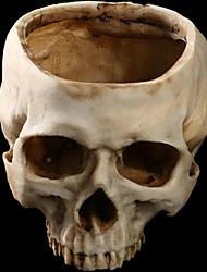 1pc halloween flowerpot résine maison du crâne escape horror accessoires accessoires