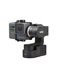 economico -feiyutech wg2 gimbal indossabile a 3 assi con nuovo treppiede intelligente adatto per action camera