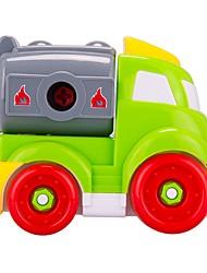 cheap -Building Blocks Construction Vehicle Toys DIY Large Size Kids' 24 Pieces