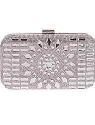cheap -Women Bags Polyester Evening Bag Crystal Detailing Sequins for Wedding Event/Party All Seasons Blue Silver Gray Coffee