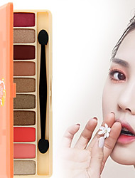 cheap -10 Eyeshadow Palette Matte Shimmer Mineral Eyeshadow palette Daily Makeup Halloween Makeup Party Makeup Fairy Makeup Cateye Makeup Smokey