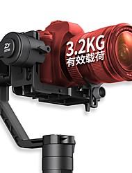 baratos -zhiyun guindaste 2 eixos handheld gimbal camra video gyro stablizer brushless para canon para nikon para câmera digital SLR carga 3200g