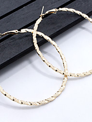 Women's Hoop Earrings Geometric Classic Alloy Jewelry For Daily Casual