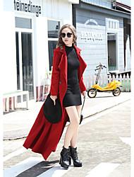 Women's Club Sexy Winter Fur Coat,Solid Peter Pan Collar Long Sleeve Maxi Silk Lace
