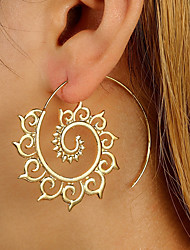 Women's Stud Earrings Drop Earrings Fashion Personalized Alloy Round Jewelry For Casual Club