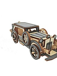 cheap -3D Puzzles Jigsaw Puzzle Model Building Kit Wood Model Car 3D Kids Hot Sale DIY Wood Christmas Fashion New Modern/Contemporary All Ages 6