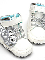 Baby Shoes PU Leatherette Winter Fall Comfort Sneakers for Casual White