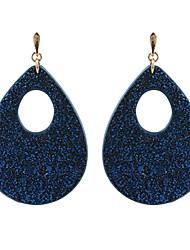 preiswerte -Damen Tropfen-Ohrringe Kreolen Schmuck Modisch individualisiert Leder Kupfer Tropfen Schmuck Für Alltag Normal
