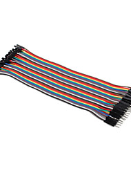 Female To Male Breadboard Wires For Electronic Diy 22Cm For Arduino