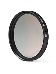 55 millimetri lente filtro cpl per nikon canon sony dslr fotocamera - nero