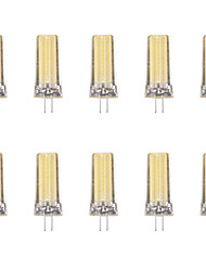 abordables -10pcs 4W 80lm G4 LED à Double Broches 1 Perles LED COB Blanc Chaud Blanc Froid 220-240V