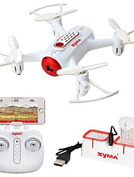 cheap -RC Drone SYMA X22W 4 Channel 6 Axis 2.4G 0.3MP 480P RC Quadcopter Forward / Backward One Key To Auto-Return 360°Rolling RC Quadcopter USB