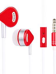 economico -JTX S809 Nell'orecchio Con filo Auricolari e cuffie Dinamico Cellulare Auricolare Con isolamento acustico Dotato di microfono cuffia