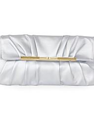 economico -Donna Sacchetti PU (Poliuretano) Pochette Tasche per Casual Formale Per tutte le stagioni Nero Argento Grigio