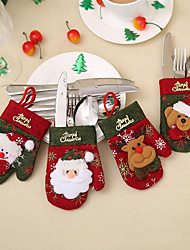 cheap -1pc Santa Leisure Storage Bag Holiday, Holiday Decorations Holiday Ornaments