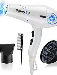 yr-6217jsx secador de cabelo elétrico cabelo ferramentas de baixo ruído salão de beleza vento quente / frio
