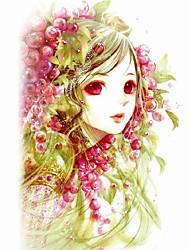 abordables -Tatouages Autocollants Séries bijoux Séries animales Séries de fleur Séries de totem Autres Blanc Série Série olympique Dessins Animés