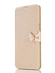 preiswerte -Hülle Für Samsung Galaxy Note 8 Kreditkartenfächer Ganzkörper-Gehäuse Volltonfarbe Schmetterling Hart PU-Leder für Note 8