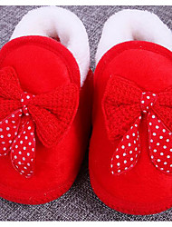 Baby Shoes Cotton Fall Winter Comfort First Walkers Flats For Casual Blushing Pink Blue Red