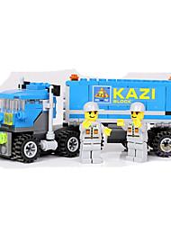 Недорогие -Конструкторы Конструкторы Игрушки Обучающая игрушка 163 pcs Транспорт совместимый Legoing Грузовик Мальчики Девочки Игрушки Подарок