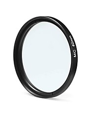 62mm mc uv ultraviolet filterbeschermer voor Sony canon dslr camera - zwart