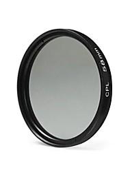 Lente de filtro cpl de 58 mm para la cámara Nikon canon dslr - negro