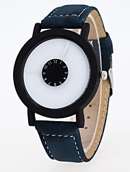 Муж. Наручные часы Китайский Кварцевый Кожа Группа Черный Синий Фиолетовый Хаки