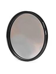 Lente de filtro cpl de 77 mm para cámara canon sony dslr de nikon canon - negro