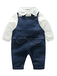 cheap -Baby Boys' Daily Solid Colored Clothing Set
