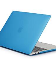 """Недорогие -MacBook Кейс Матовое Однотонный Поликарбонат для Новый MacBook Pro 15"""" / Новый MacBook Pro 13"""" / MacBook Pro, 15 дюймов"""