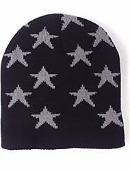 cheap -Women's Hat Sweater Ski Hat Print Jacquard