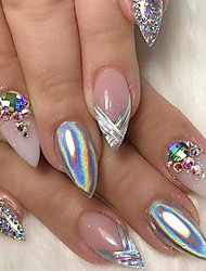 0.15g Shining Rainbow Nail Art Holographic Powder Gradient Laser Manicure Beauty Pigment Nail Art DIY Nail Salon Dust Glitter Decoration