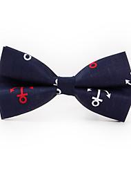 cheap -Men's Polyester Bow Tie Print