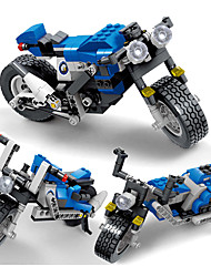 cheap -Building Blocks 240 Motorcycle Motorcycle Children's Boys' Gift