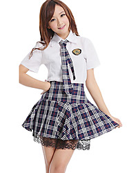Student/School Uniform Career Costumes Cosplay Costumes Party Costume Female Girls' Halloween Carnival New Year Festival/Holiday