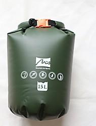 Недорогие -15 L Водонепроницаемый брезентовый мешок Быстровысыхающий Анатомический дизайн Дожденепроницаемый Пригодно для носки для Плавание Дайвинг