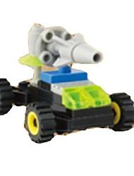 Недорогие -Конструкторы Наборы для моделирования Игрушки Колесница Мягкие пластиковые 1 Куски Подарок