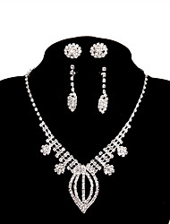 cheap -Women's Chain Necklace - Simple White Necklace Five-piece Suit For Wedding, Party, Engagement