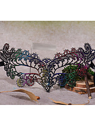 cheap -Lace Headwear / Masks with Floral 1pc Special Occasion / Halloween / Party / Evening Headpiece