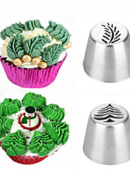 cheap -Cake Molds Christmas Snowman 3D For Candy Ice Cream Cookie Cake For Cupcake For Cake Stainless Steel DIY New Year's Wedding Christmas